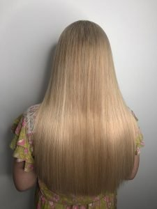 straightening Hair Extensions in gold coast