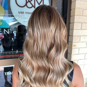 modern salon for hair extensions in gold coast