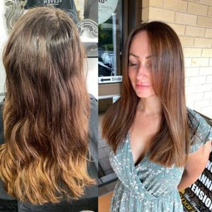 Modern hairdresser in gold coast