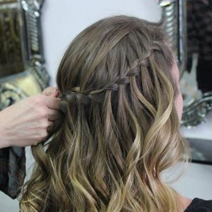formal bridal hairdresser in gold coast