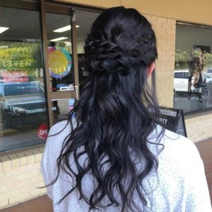 Formal Wedding Hair hairstylist in gold coast