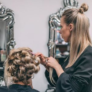 Wedding hairdresser in gold coast